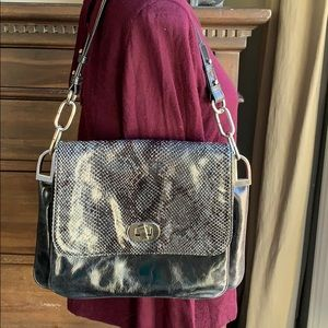 NWOT Badgley Mischa snakeskin purse